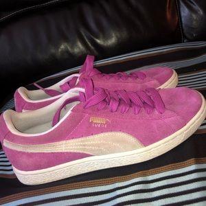 PUMA Suede Classic Women's Sneaker in Pink